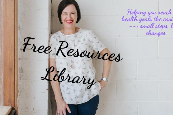 Tracey McBeath Health Coach Free Resources