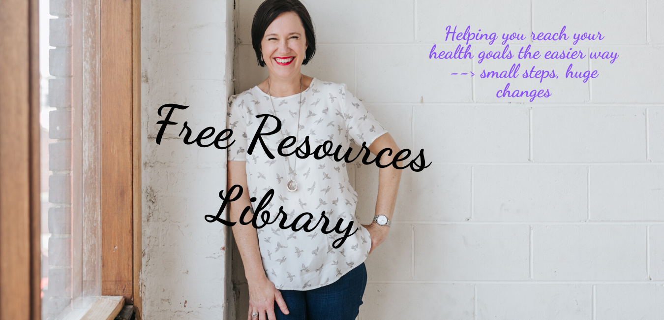 Tracey McBeath Health Coach Free Resources